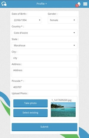 The Profile Page